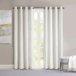 Madison Park Bassi Arcadia Curtain Panel Set of 2